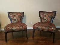 McCreary Modern Floral Accent Chairs $225ea. 2345 mi