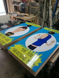 Bevis and butthead cornhole boards  Manchester, 03102