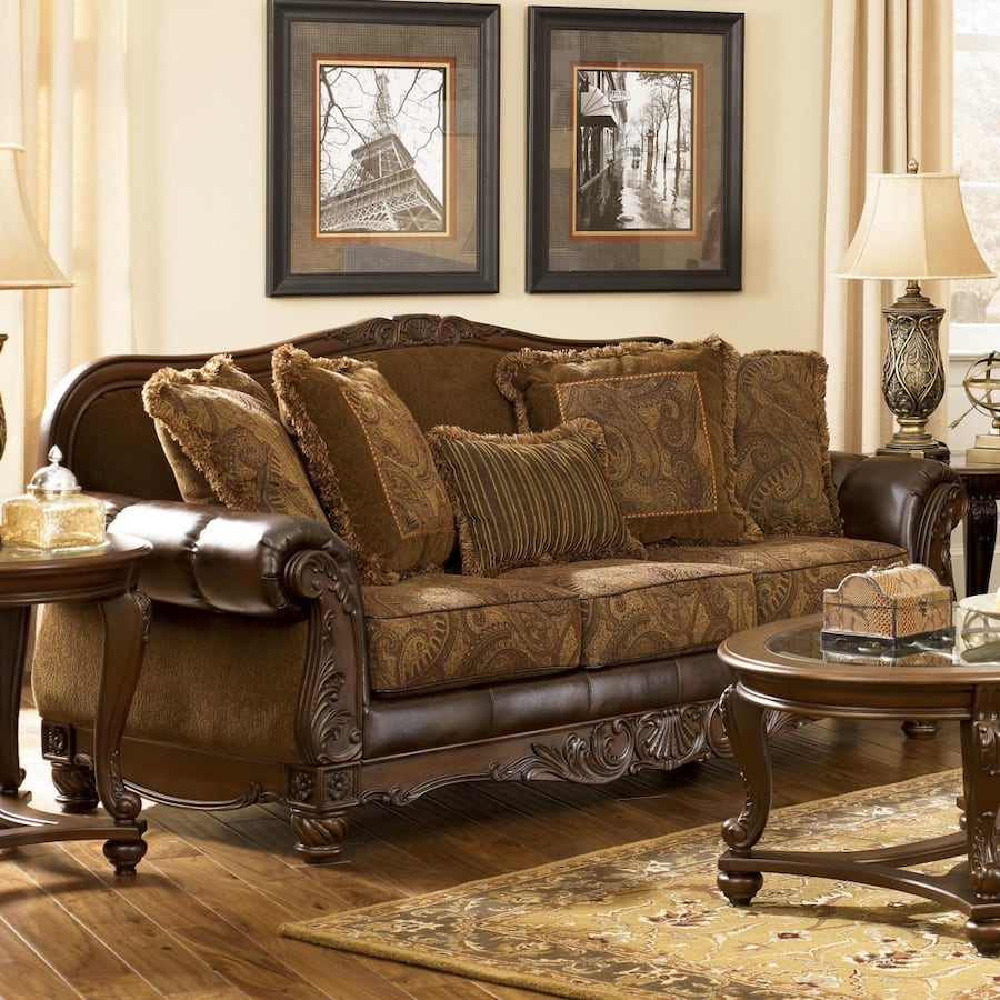 Ashley couches set & table