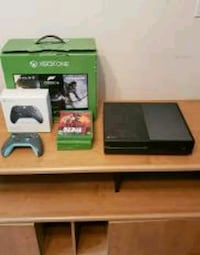 Xbox One/With Games and Controller