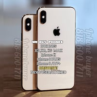 gold iPhone 6 with black case 2281 mi