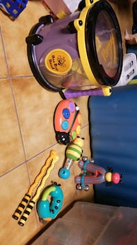 Bee bop band toy kid set  Toronto, M9L 2R2