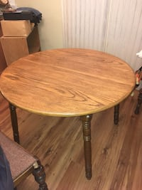 Solid Oak Table Olds