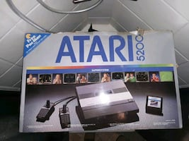 Atarl 5200 with games