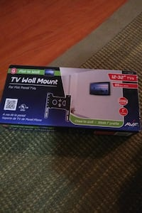 black TV wall Mount box