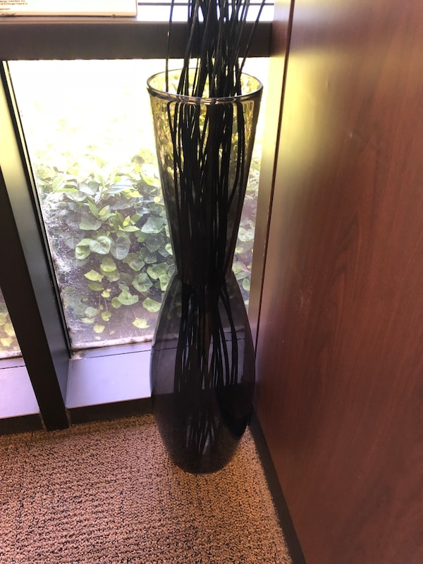 Used Ikea Floor Vase With Decor Twigs For Sale In Fremont Letgo