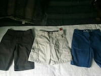 two black and one gray shorts San Juan, 78589
