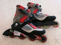 pair of black-and-gray inline skates Winnipeg, R2W 0R9