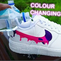 COLOURCHANGING Dirty Sprite Drip AF1's  Brampton, L6X 4P5