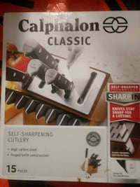 Calphalon classic 15piece self sharpening cutlery set