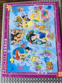 Disney Princess's 350pc Puzzle