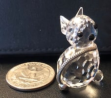Swarovski Cat Figurine