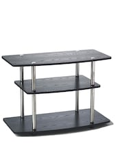 Black 3 tier tv stand- Brand New in box Fort Belvoir, 22060