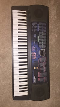 black and white electronic keyboard Morrow, 45152