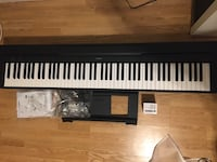 Yamaha P71 88-Key Weighted Action Digital Piano with accessories Silver Spring, 20906