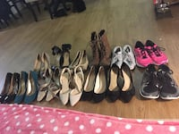 Assorted pairs of shoes/heels all together for 60$ Alexandria, 22311
