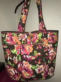 Vera Bradley Large English Rose Floral Tote Bag Fall River, 02720