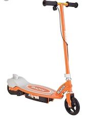 Orange and gray razor electric scooter 2404 mi