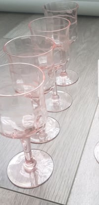 Absolutely Stunning Crystal Antique Glasses