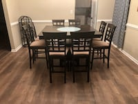 Dining Room Table with Chair Set Suffolk, 23435
