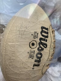 Redskins autographed football Woodbridge, 22191