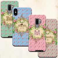 Phone cases personalized for iPhone and Samsung