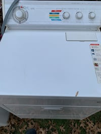white front-load clothes dryer 29 km