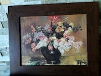 Beautiful ANTIQUE Oil Stil Life Painting signed top Left by Artist  Mississauga, L5J 2E5