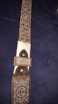 brown and white leather belt Midvale, 84047