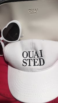 Limited edition OUAI hat, cosmetic bag and sunglasses Guelph, N1H 7P2