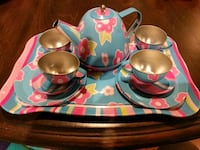 Tin Tea Set New Market, 21774