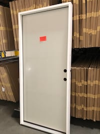 36x80 pre hung entry door (steel and wood) Riverside, 92501