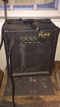 black guitar amplifier Barnstable, 02668