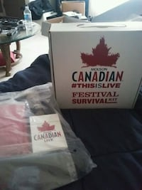 Molson Canadian survival lot. hard to find brand new London