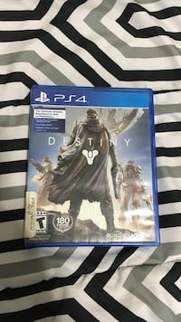 Destiny Sony PS4 game case Albuquerque, 87121