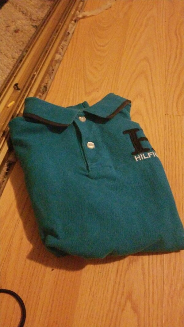 db15fef0 Used blue-green Tommy Hilfiger polo shirt for sale in Arboga - letgo