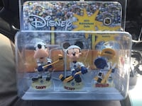 Disney Toronto maple leafs bobble heads. New old stock from 2003 Hamilton, L8M 2B5