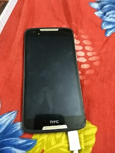 black HTC android smartphone