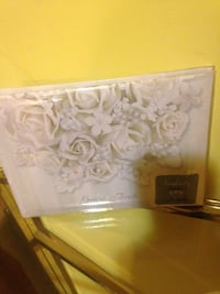 white and gray floral print box Ellicott City, 21042