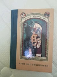 The Bad Beginning by Lemony Snicket  Ajax