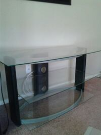 Glass tv stand North Las Vegas, 89031