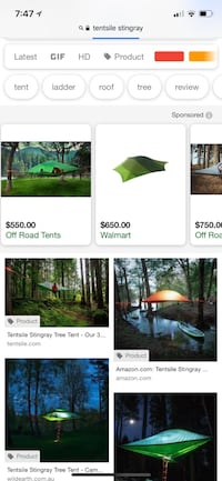 Tentsile Stingray Tree Tent  Centreville, 20121