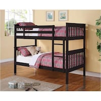 Chapman Black Bunk Bed ***FREE DELIVERY ***FINANCING AVAILABLE Las Vegas