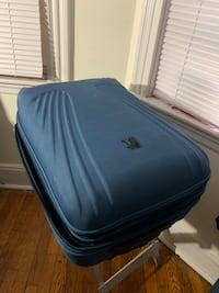 Blue Suitcase (25inches x 16 inches x 13 inches