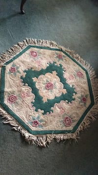 White, pink, and green floral rug Toms River, 08753