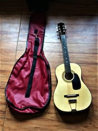 Brentwood guitar and case Regina