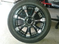 "Verde Black Ice .17"" rims and tires Brampton, L6Y 4V7"