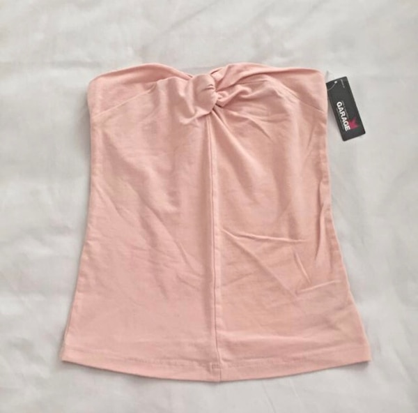 0cfad13d00 Used Size xs light pink peach tube top for sale in Richmond Hill - letgo