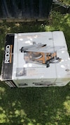 Brand new in box rigid portable table saw