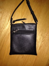 Black leather crossbody purse  Toronto, M8Z 3Z7